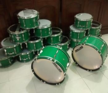 harga drumband 1 set murah