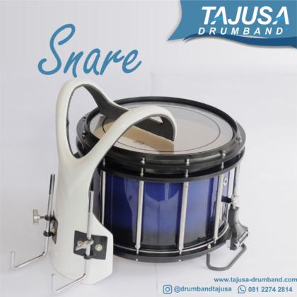 snare marchingband 14 inch dengan harnes fiber