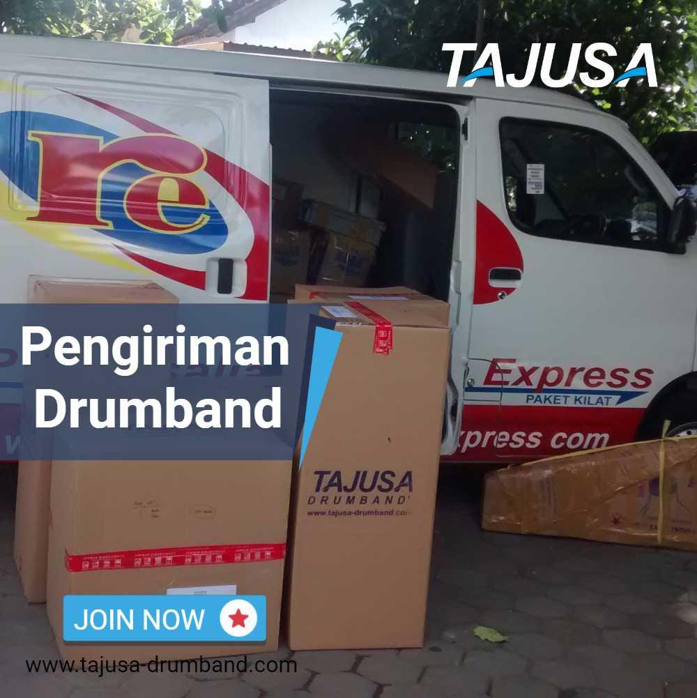 pengiriman drumband mts dengan rosalia