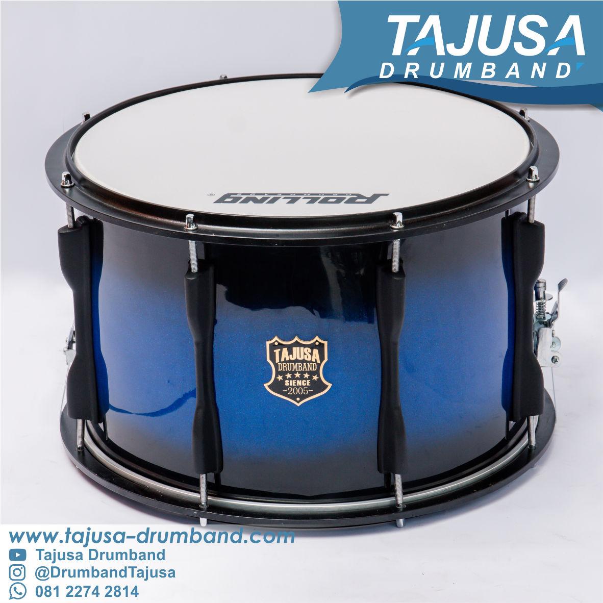 snare drum terbaik blue