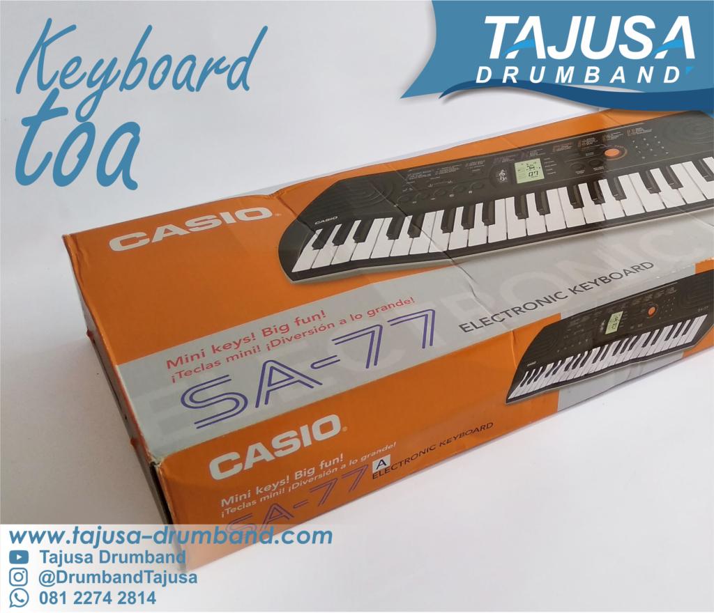 Piano elektrik Toa drumband