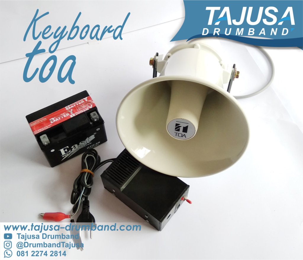 Keyboard Toa Drumband