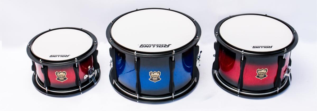 drumband 10 inch 12 inch dan 14 inch